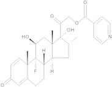 Dexamethasone Isonicotinate