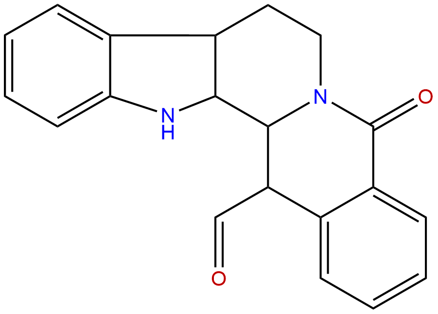 14-Formyldihydrorutaecarpine