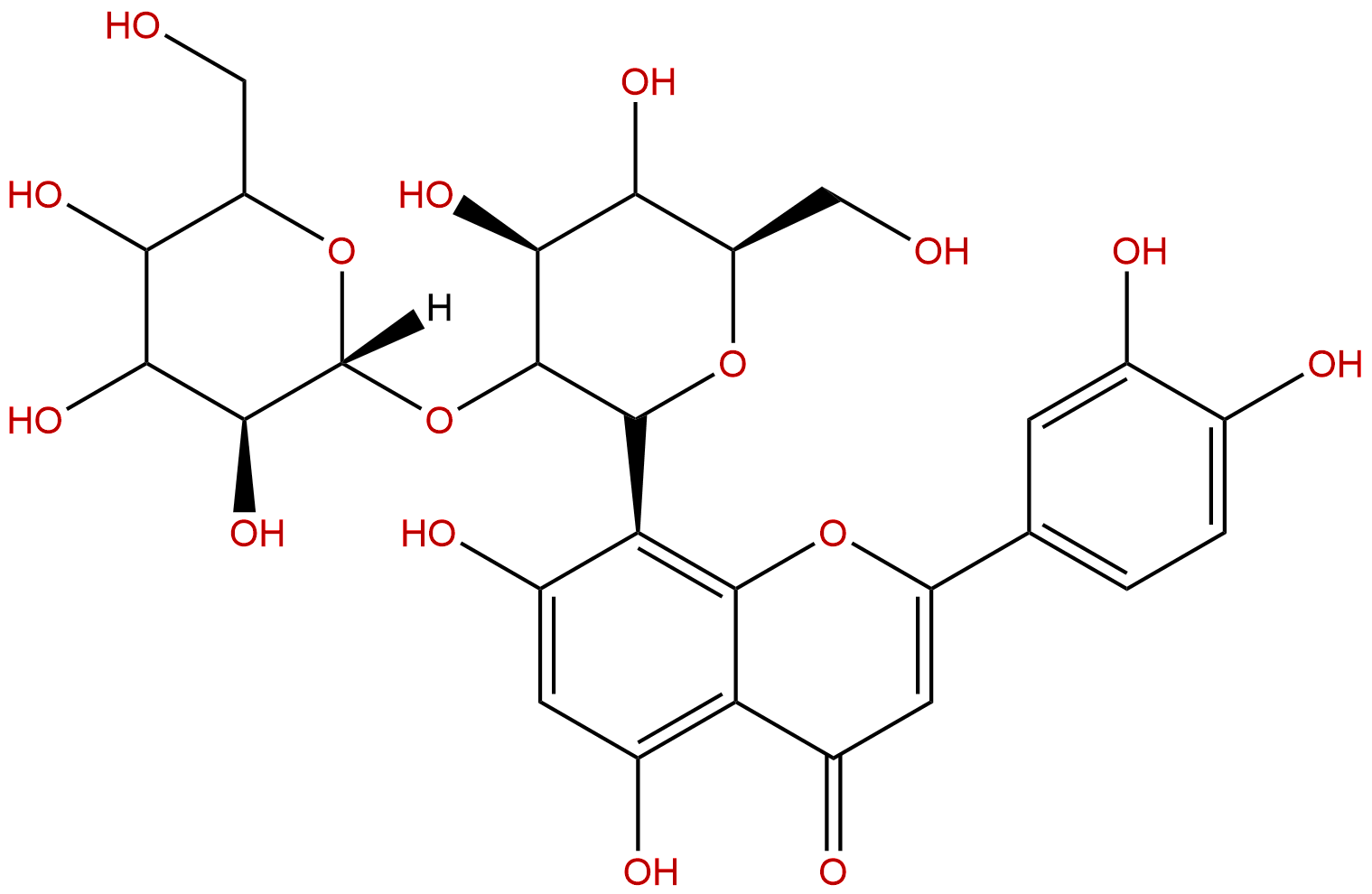 2''-O-beta-L-galactopyranosylorientin