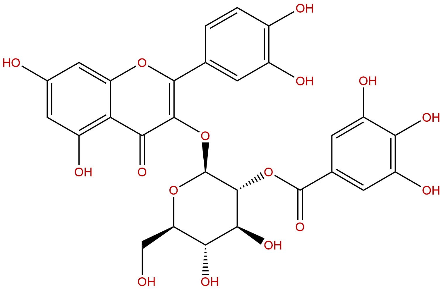 2''-O-Galloylhyperin