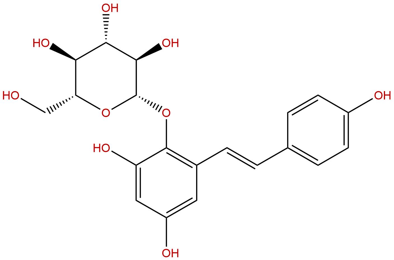 2,3,5,4'-Tetrahydroxyl-diphenylethylene-2-O-beta-D-glucoside