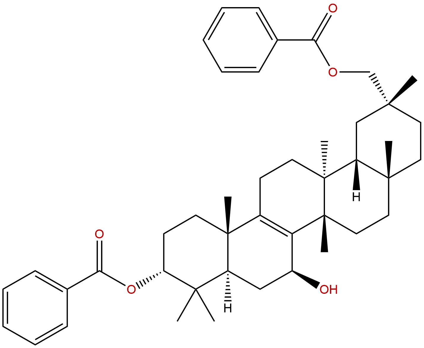 3,29-Dibenzoyl rarounitriol