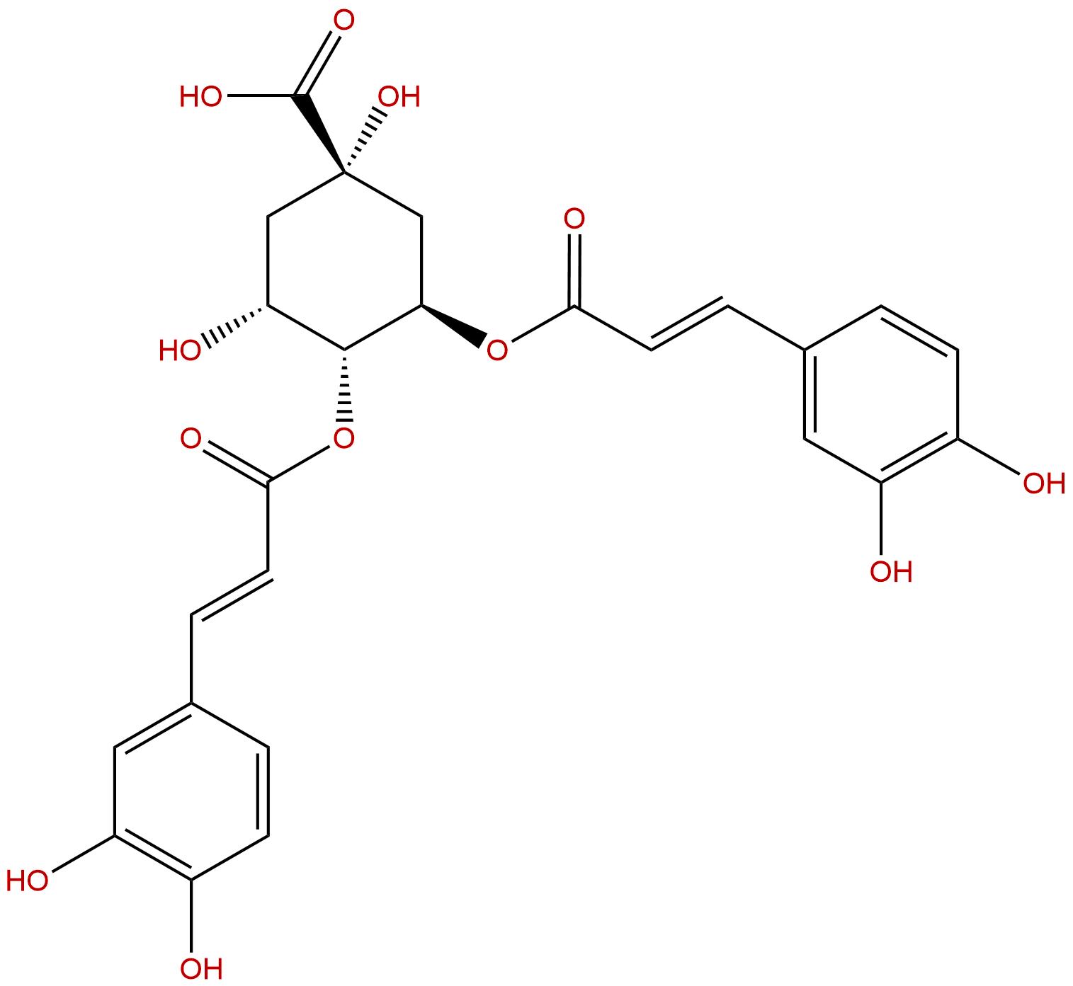 3,4-Dicaffeoylquinic acid