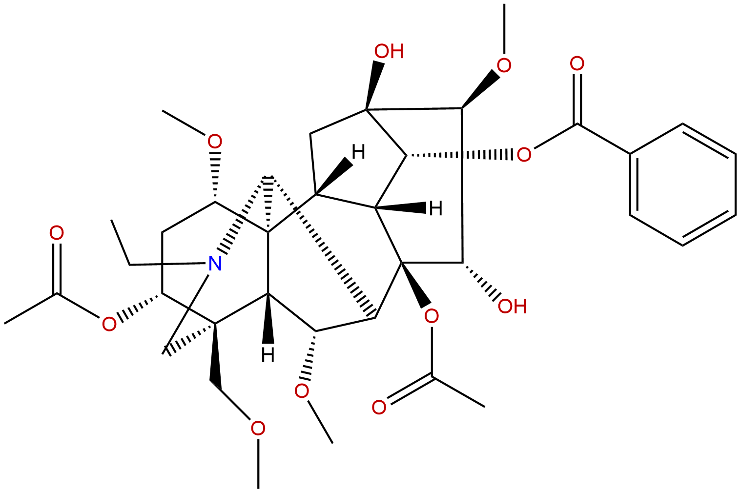 3-Acetylaconitine