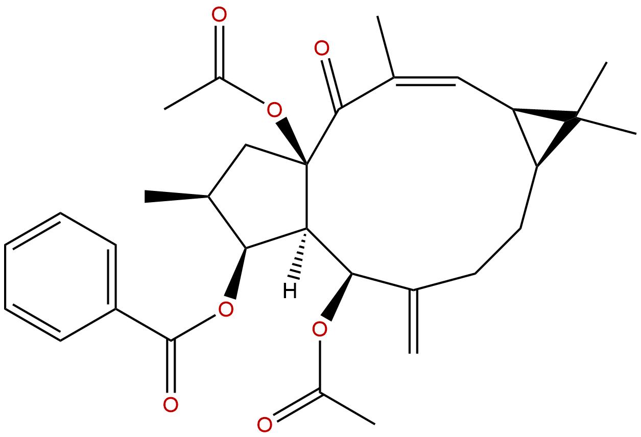 5,15-Diacetyl-3-benzoyllathyrol