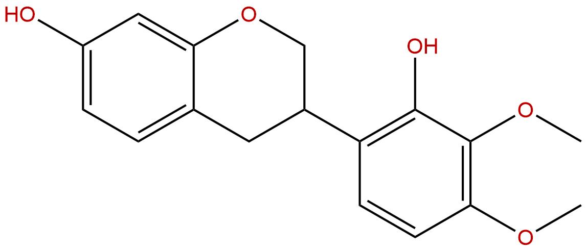 7,2′-Dihydroxy-3′,4′-Dimethoxyisoflavan