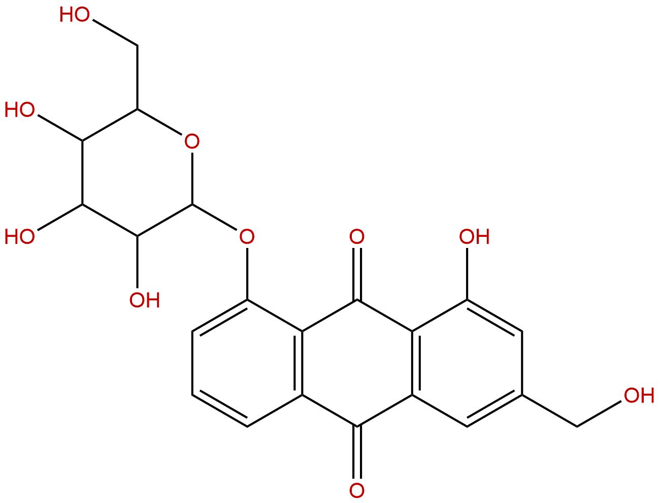 Aloe-emodin-8-O-beta-D-glucopyranoside