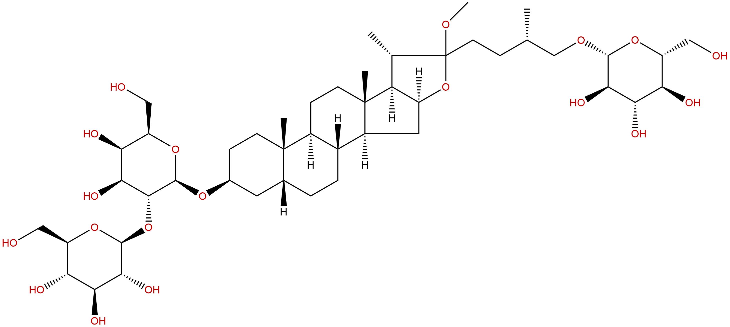 Anemarsaponin E