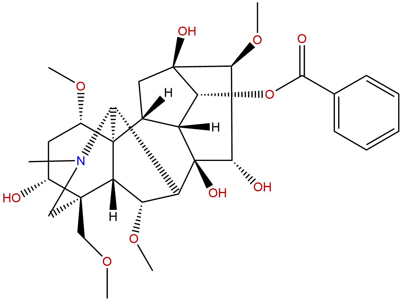 Benzoylmesaconine