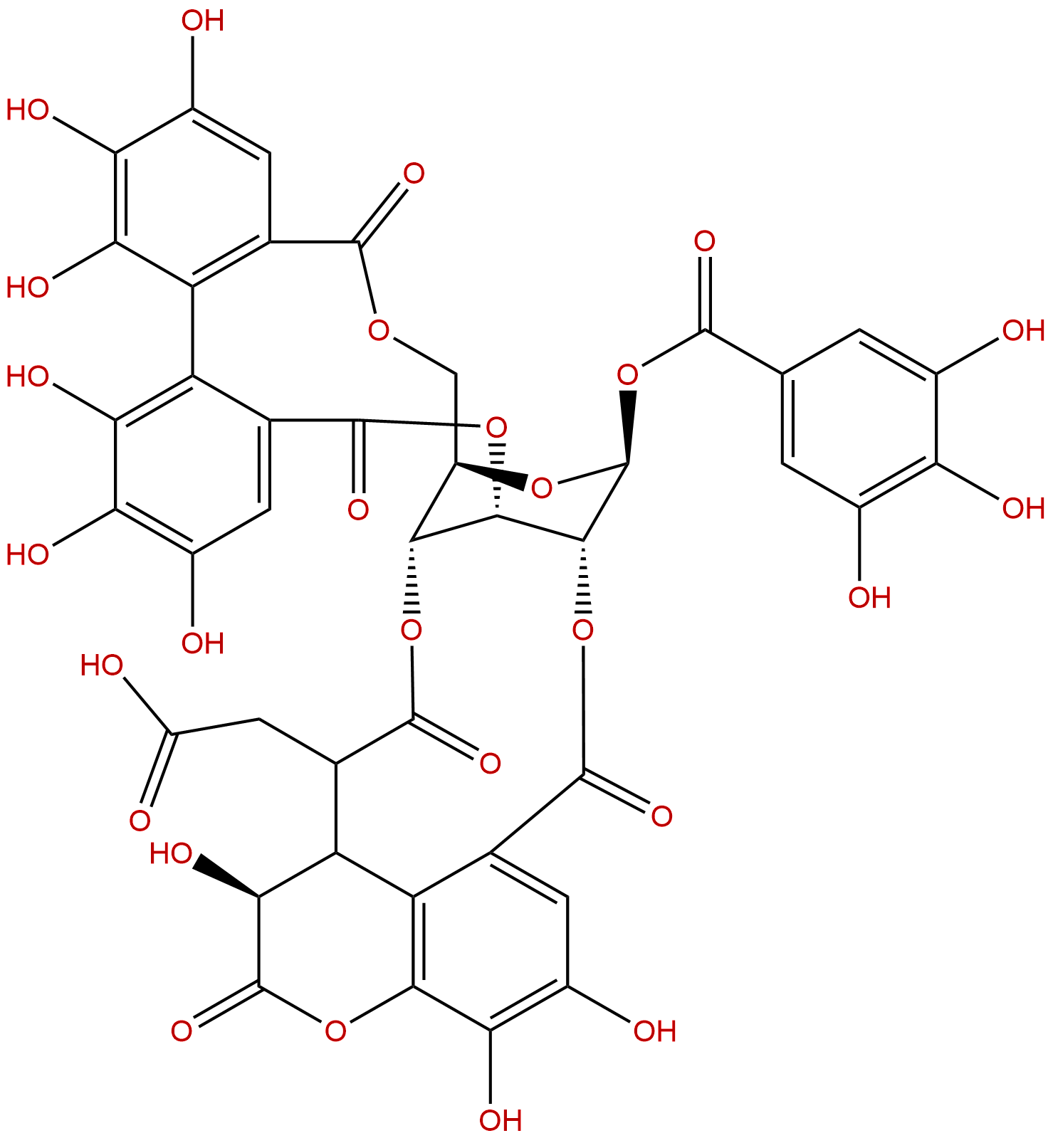 Chebulagic acid
