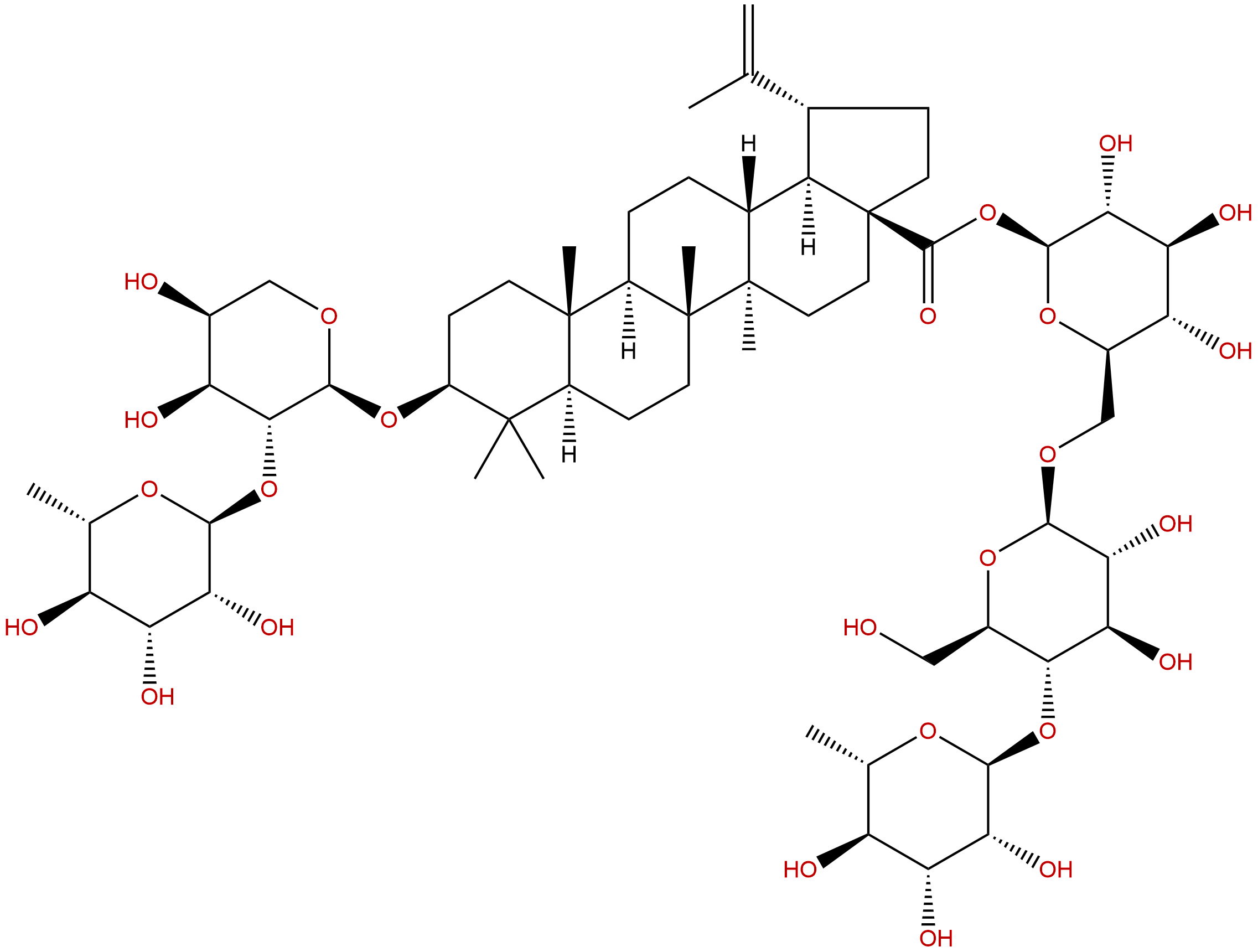 Cussosaponin C