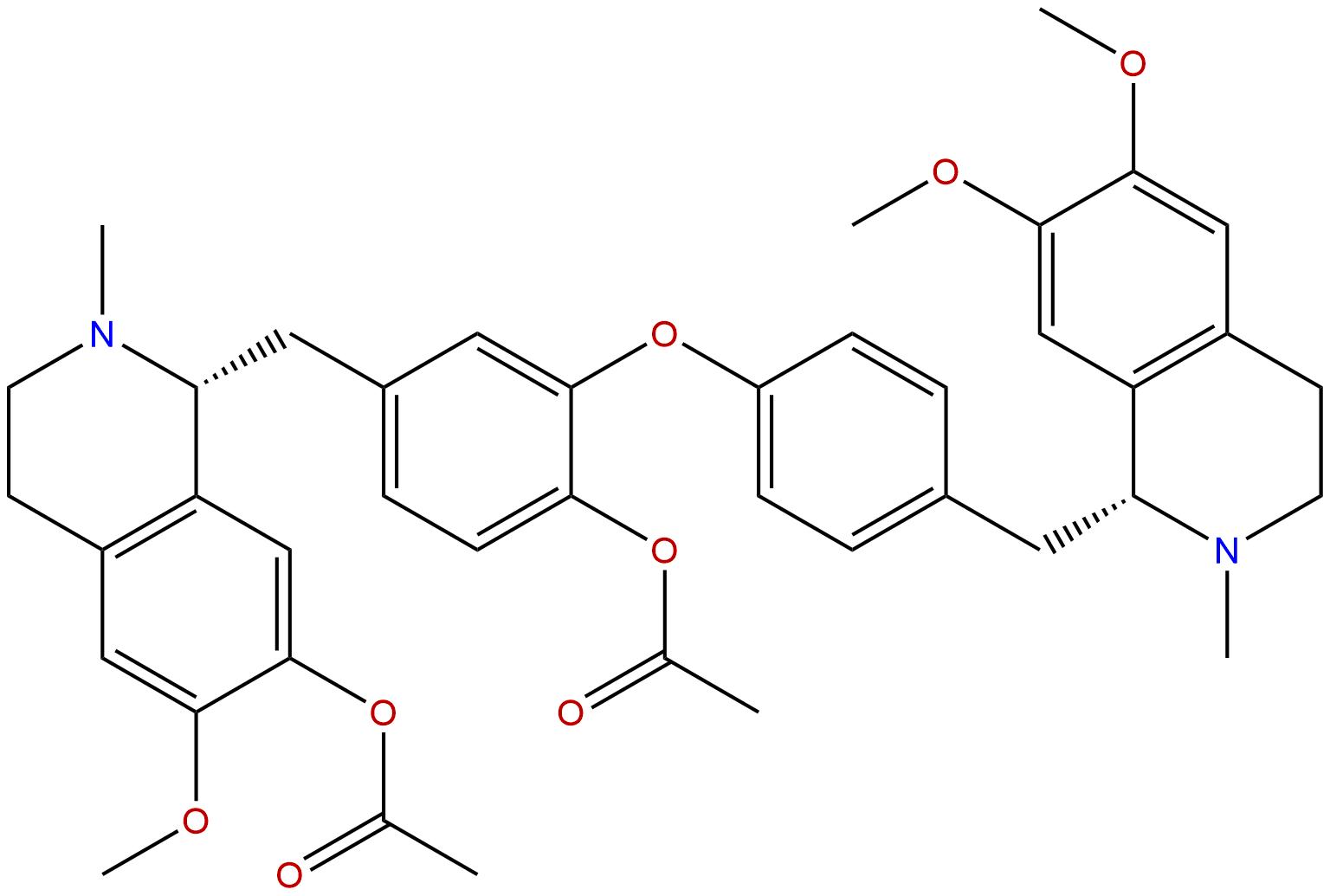 Di-O-acetyldaurisoline
