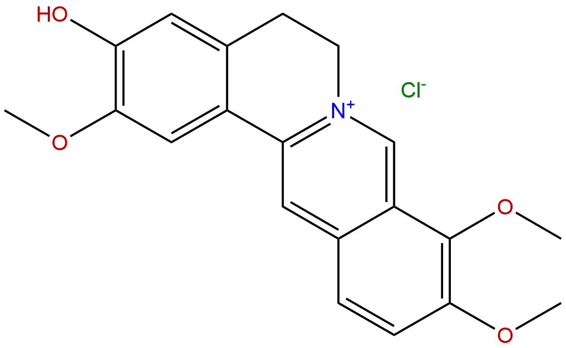 Jatrorrhizine chloride