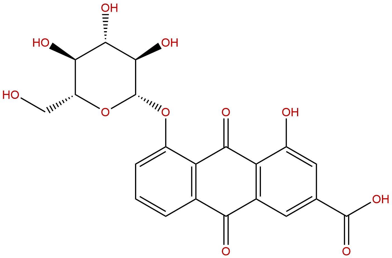 Rhein-8-glucoside