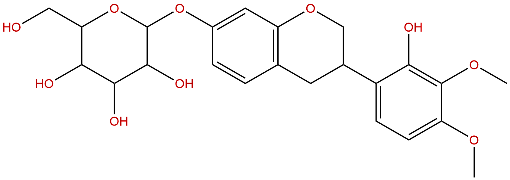 Astraisoflavan-7-O-β-D-glucoside
