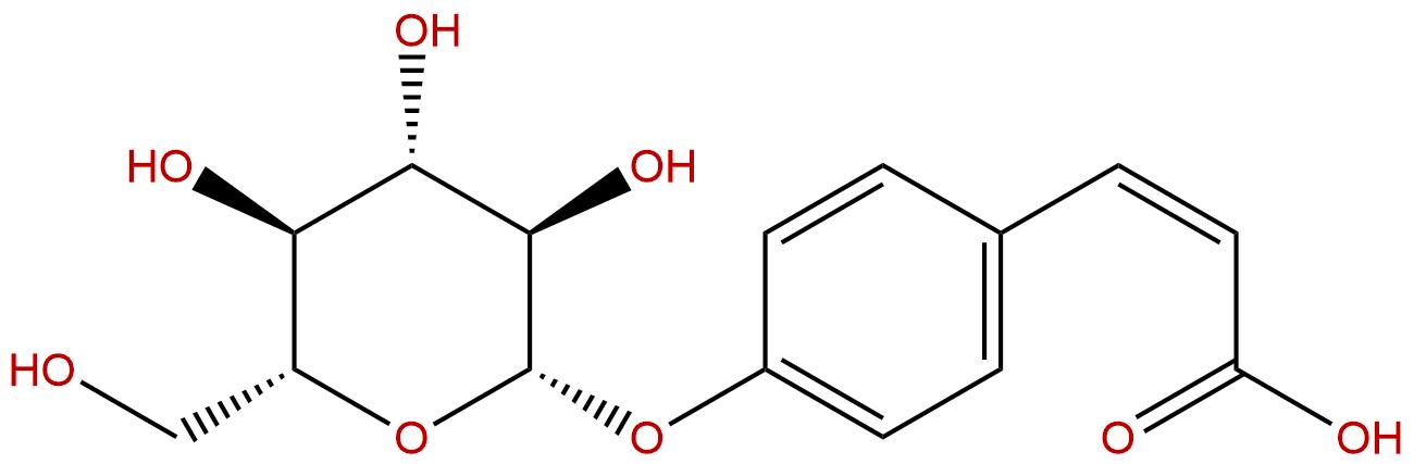 4-O-beta-Glucopyranosyl-cis-coumaric acid