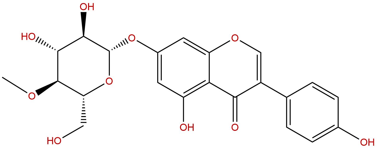 4''-methyloxy-Genistin