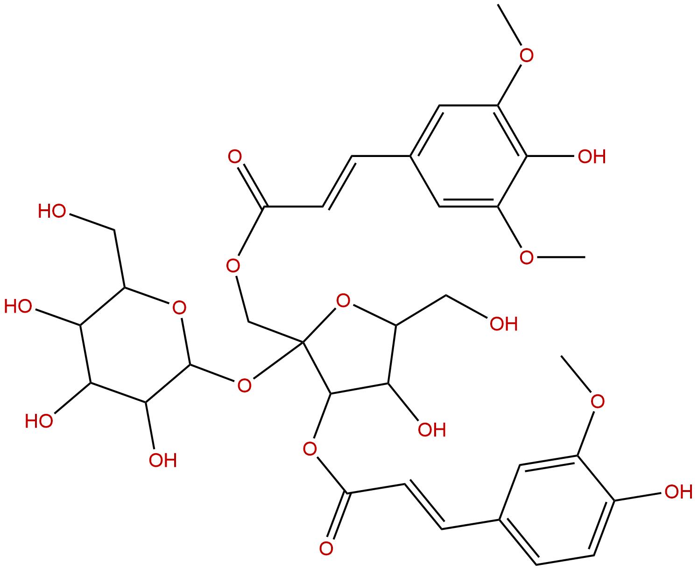 3-Feruloyl-1-Sinapoyl sucrose