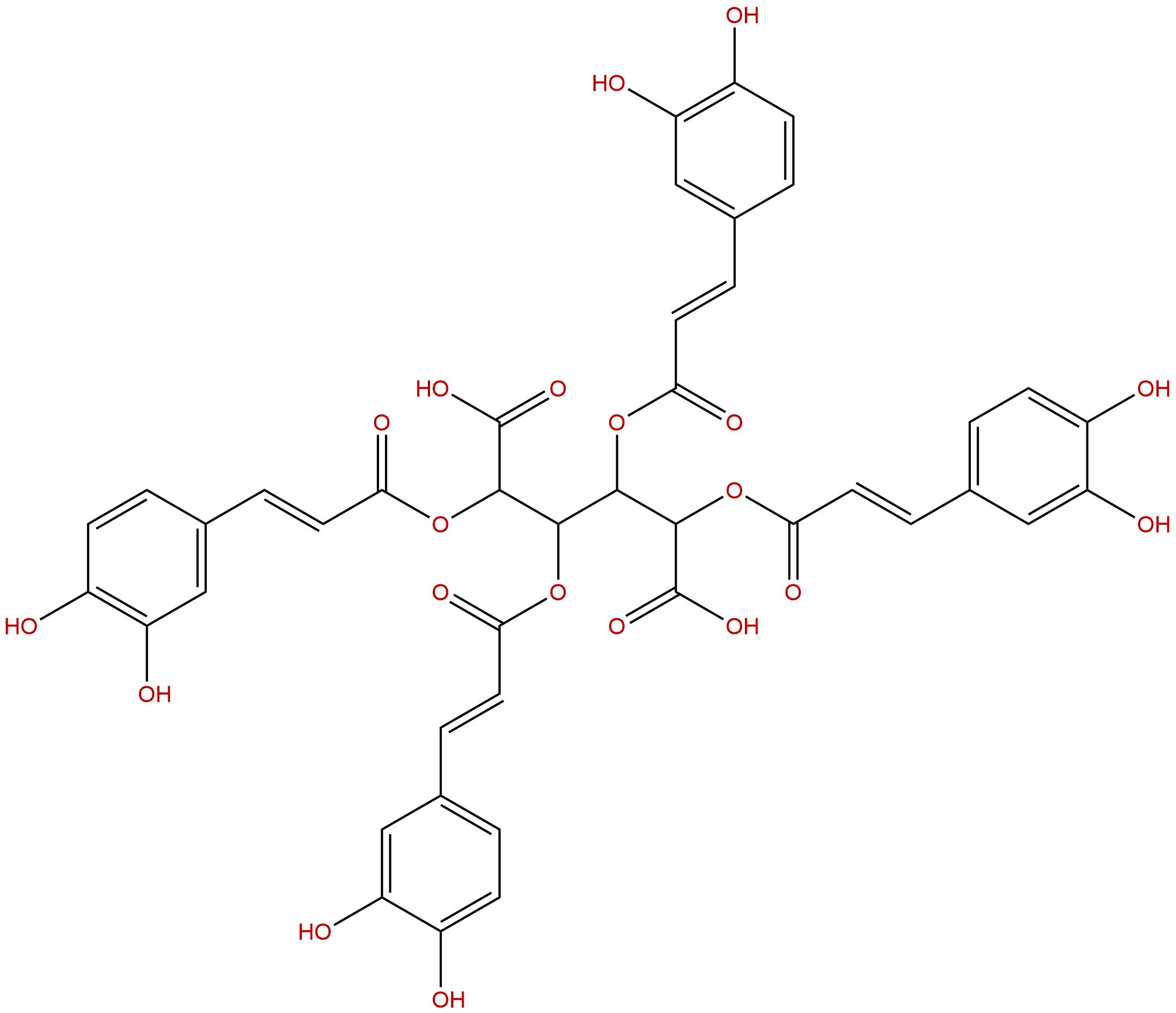 2,3,4,5-Tetracaffeoyl-D-Glucaric acid
