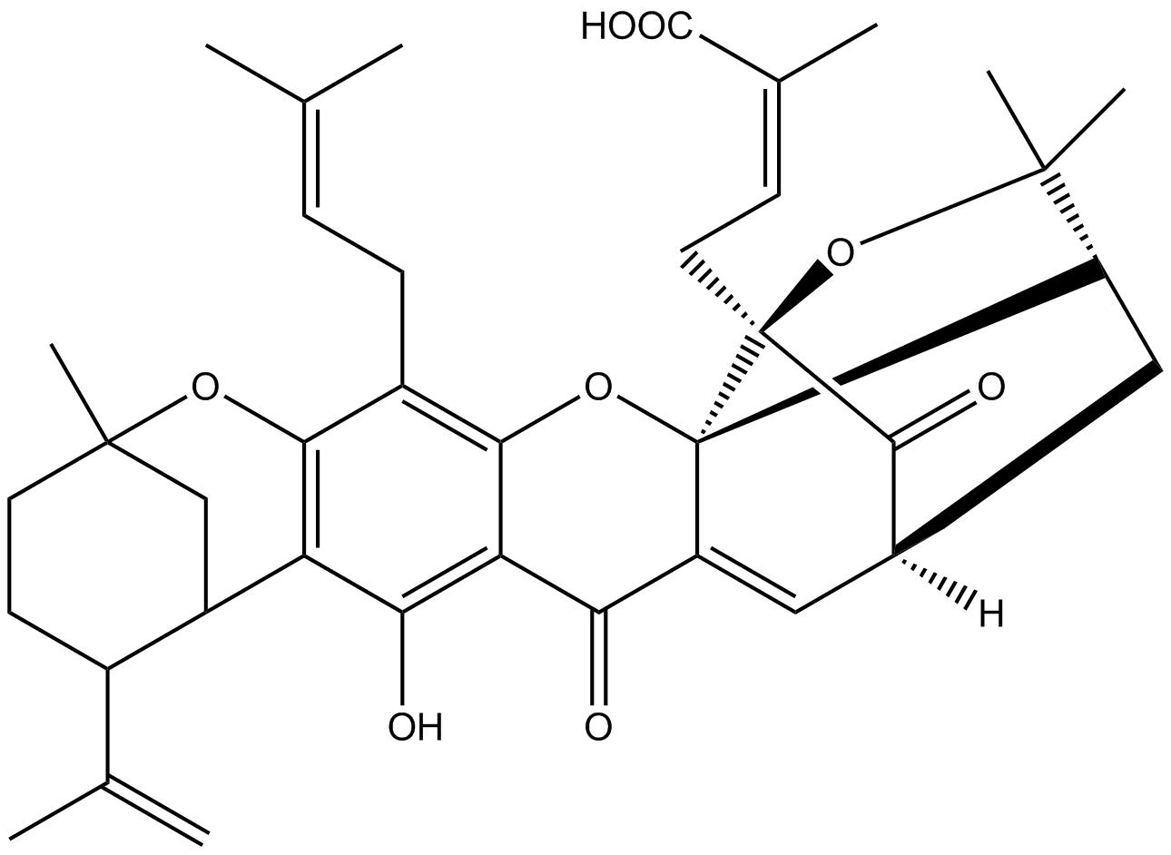 Gambogellic acid