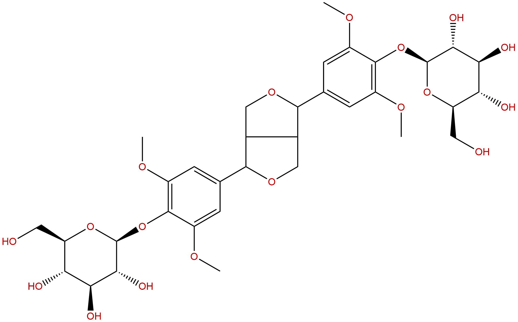(-)-Syringaresinol di-O-glucoside