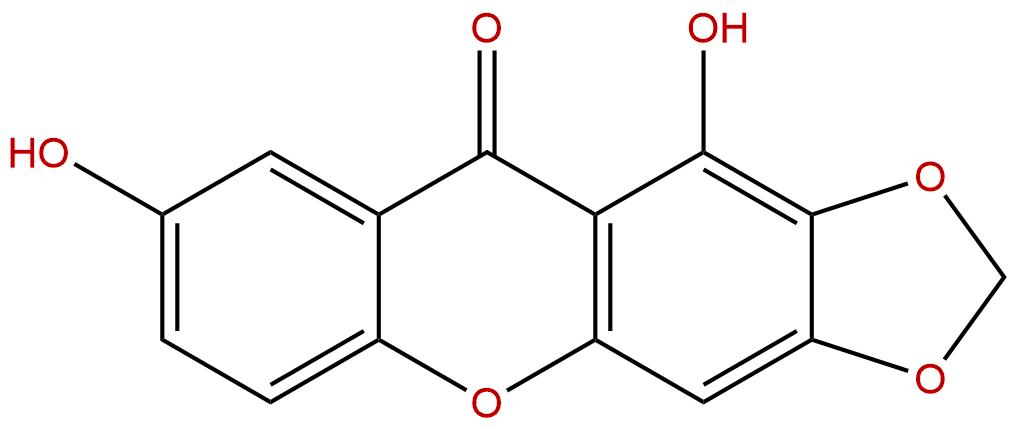 1,7-Dihydroxy-2,3-methylenedioxyxanthone