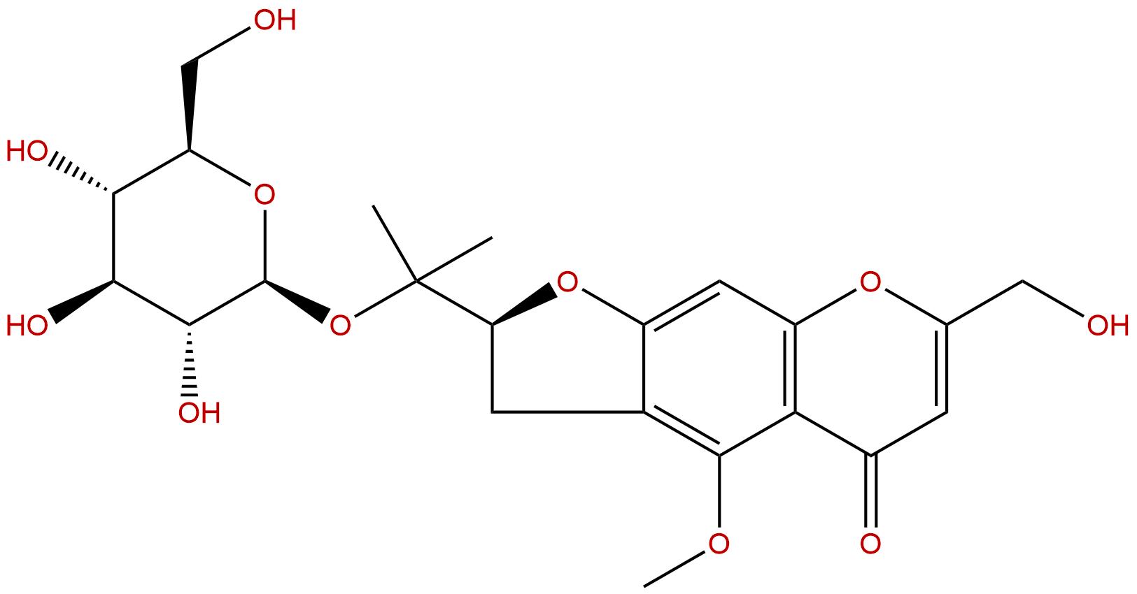 Cimifugin 4'-glucoside