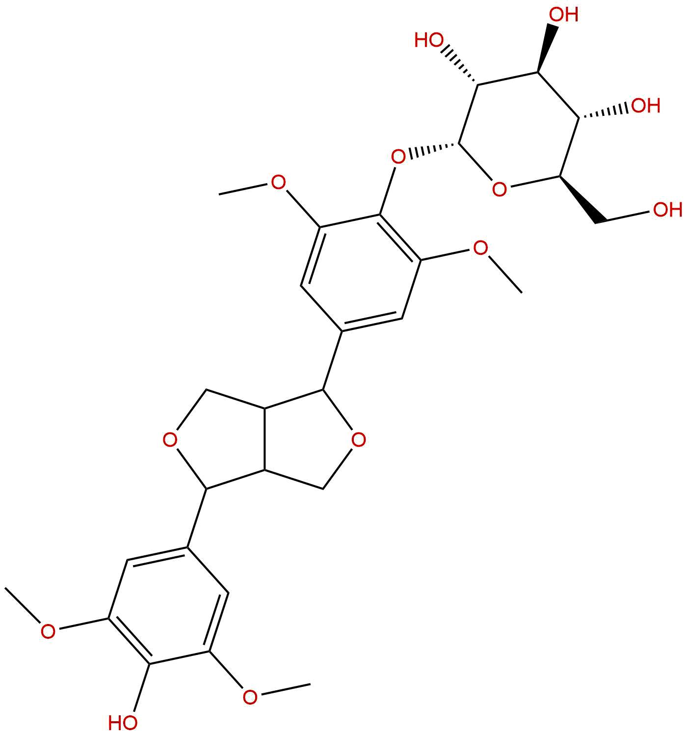 Episyringaresinol 4'-O-β-D-glncopyranoside