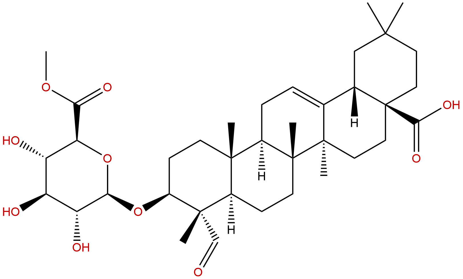 Gypsogenin 3-O-β-D-glucuronopyranoside