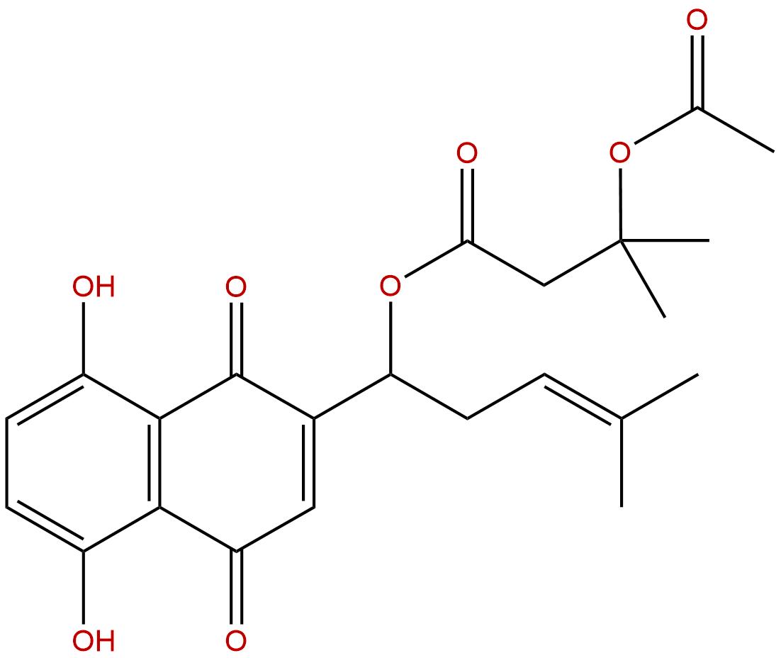 -acetoxyisovalerylalkannin