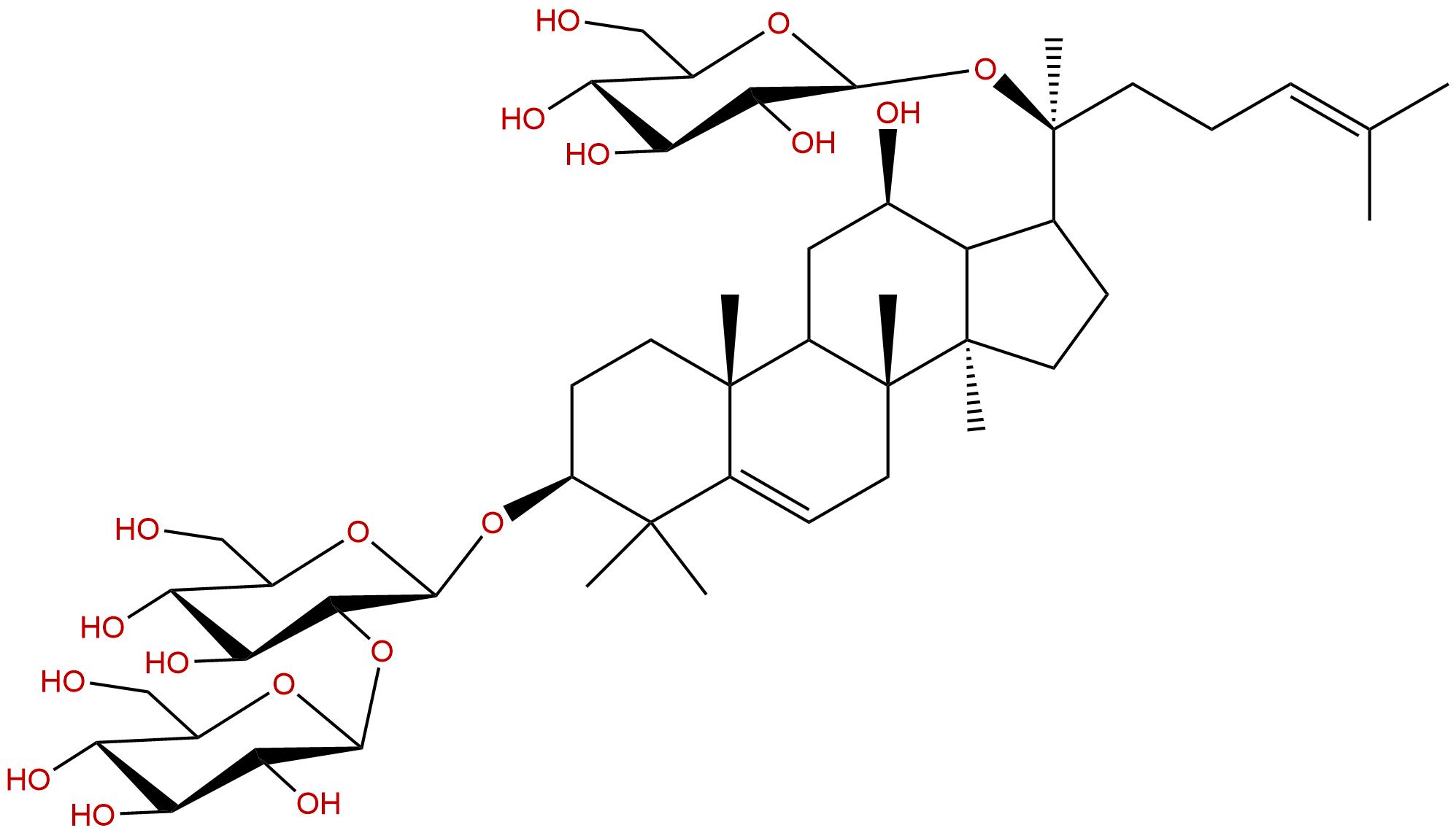 5,6-dehydrogensenoside Rd