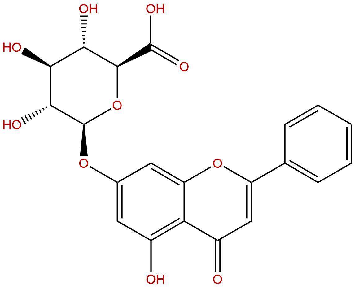 Chrysin 7-glucuronide