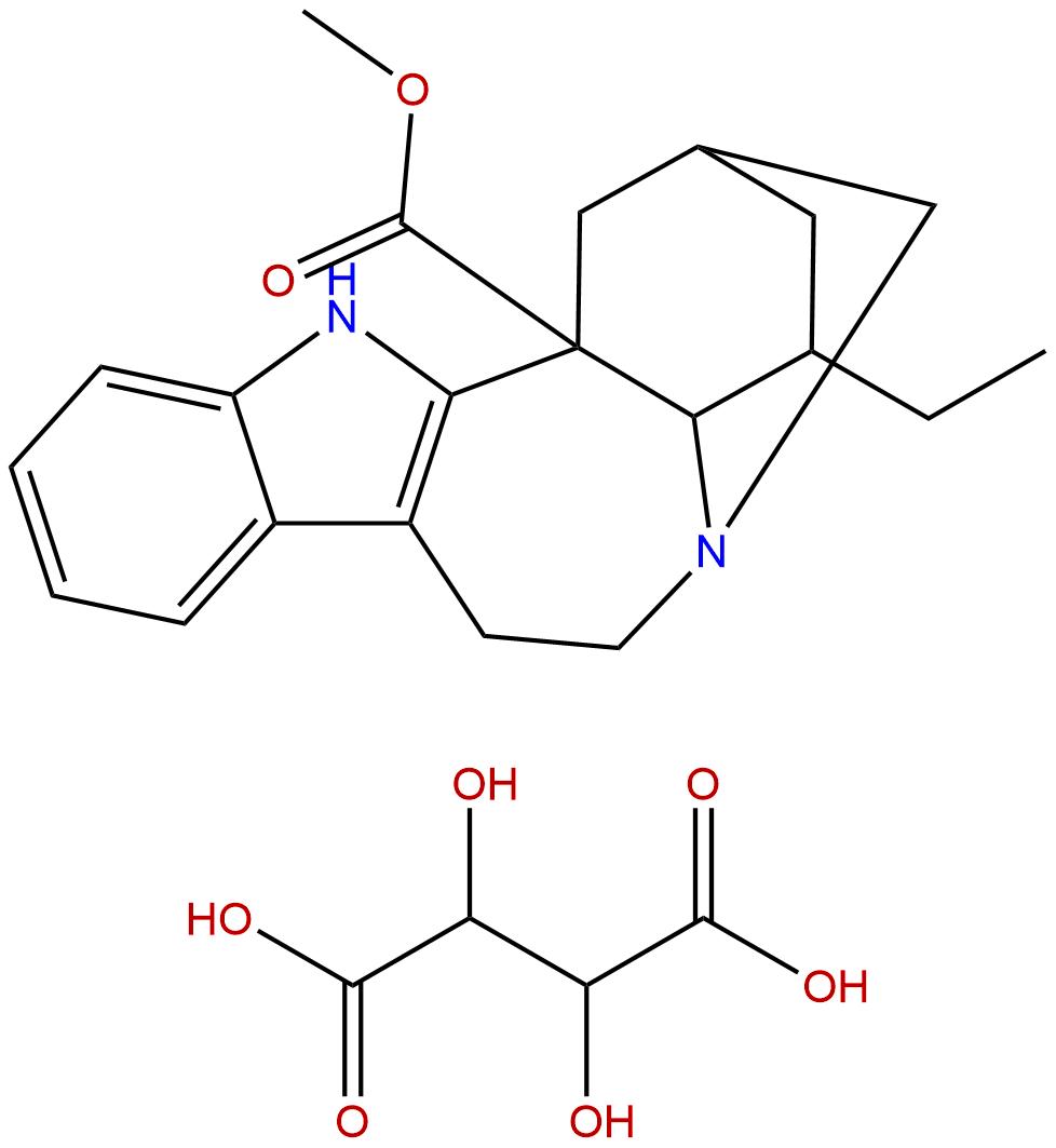 Catharanthine hemitartrate