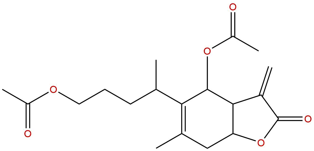 1,6-O,O-diacetylbritannilactone