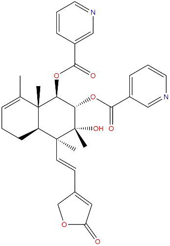 Scutebarbatine A