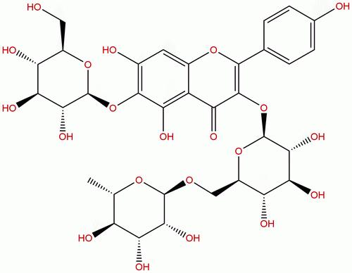 6-Hydroxykaempferol 3-Rutinoside -6-glucoside