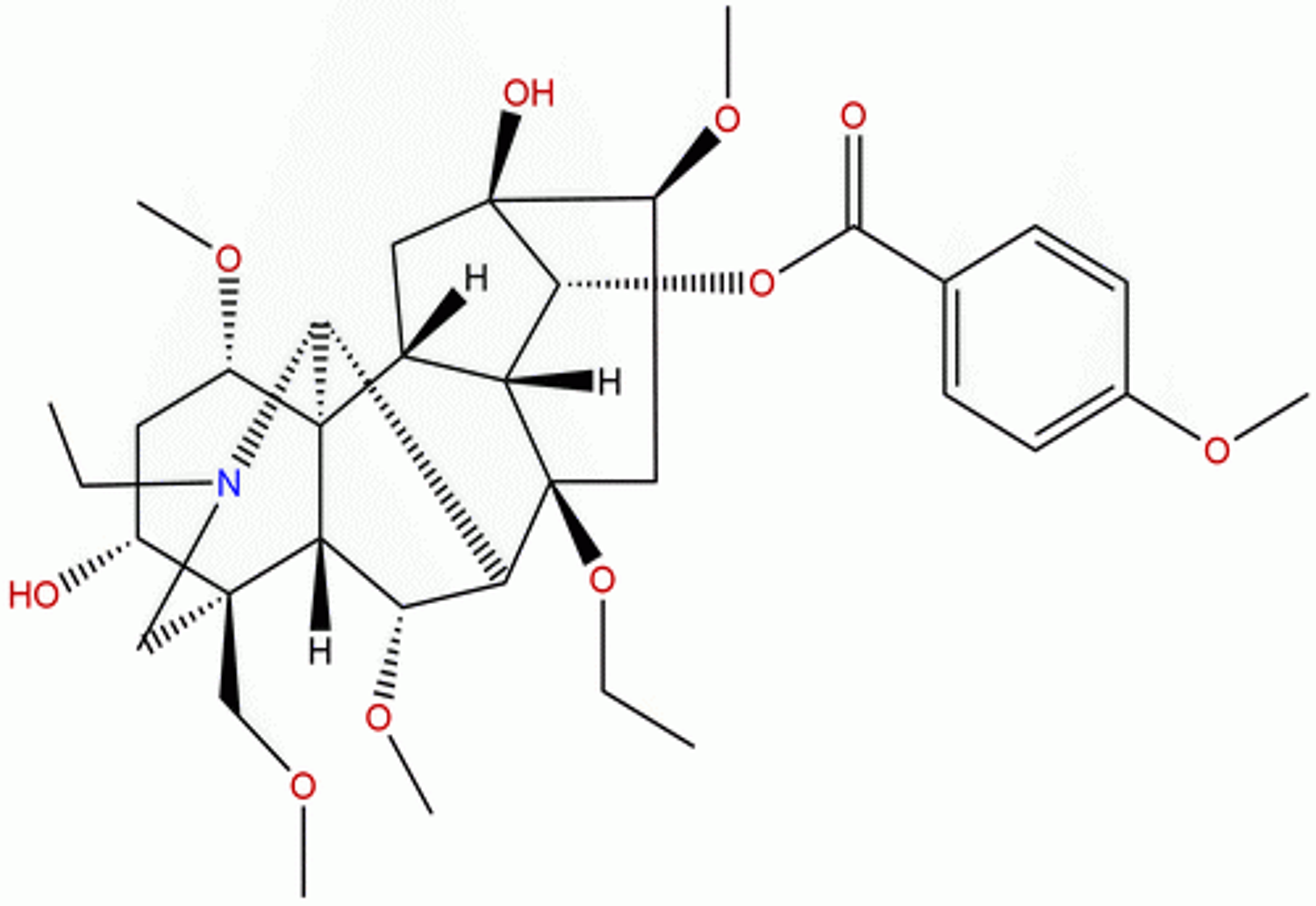 8-Deacetyl yunaconitine