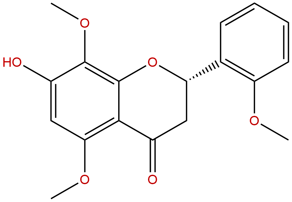 7-Hydroxy-2',5,8-trimethoxyflavanone