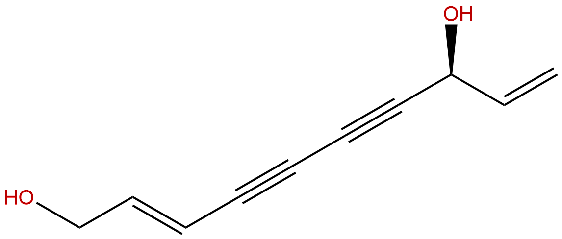 (S,E)-Deca-2,9-diene-4,6-diyne-1,8-diol
