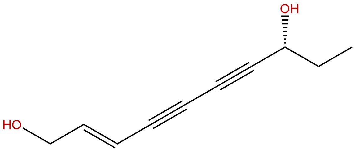 (R,E)-Deca-2-ene-4,6-diyne-1,8-diol
