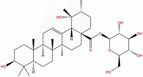 Pomolic acid glucopyranosyl ester
