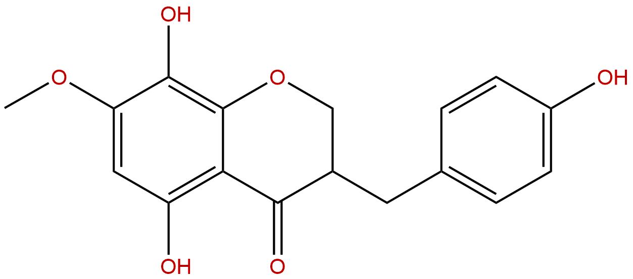 8-O-Demethyl-7-O-methyl-3,9-dihydropunctatin