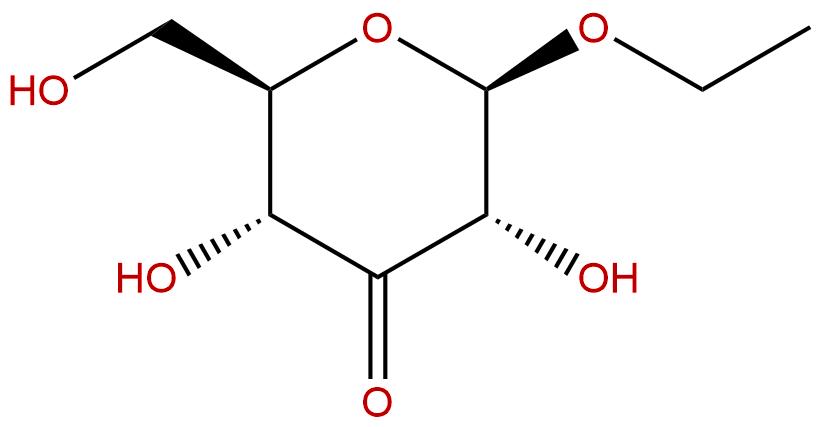 Ethyl -D-ribo-hex-3-ulopyranoside