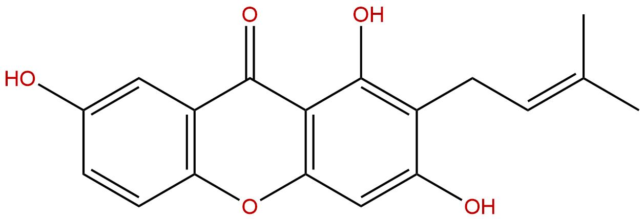 1,3,7-Trihydroxy-2-prenylxanthone