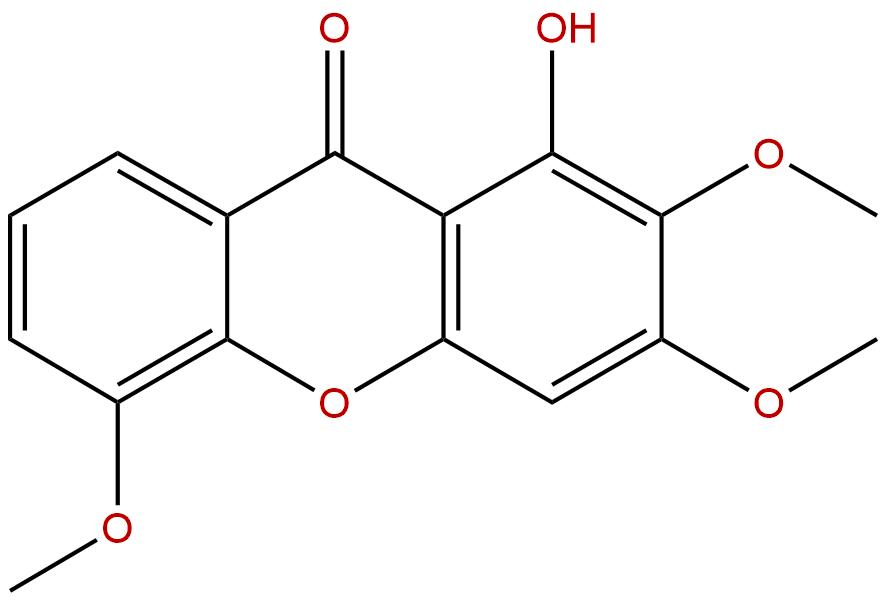 1-Hydroxy-2,3,5-trimethoxyxanthone