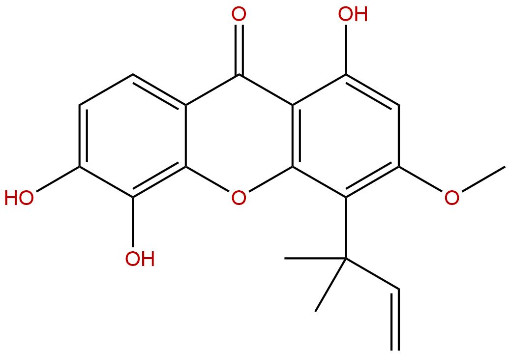 Isocudraniaxanthone B