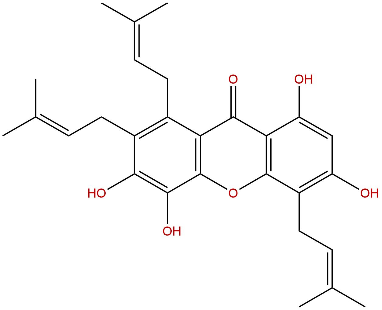 Isogarciniaxanthone E