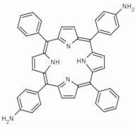 5,15-di(4-aminophenyl)-10,20-diphenyl porphine