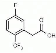 5-Fluoro-2-(trifluoromethyl)phenylacetic acid