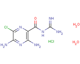 Amiloride hydrochloride dihydrate